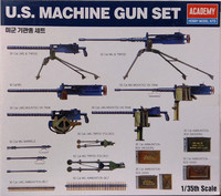 U.S. Machine Gun Set, 1:35