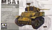 M5A1 Stuart Light Tank Early Production, 1:35
