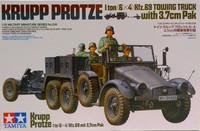Krupp Protze with 3,7cm Pak, 1:35