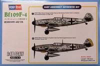 Bf109 F-4, 1:48 (pidemmällä toimitusajalla)