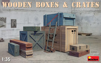 Wooden Boxes & Crates 1:35