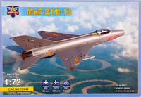 MiG-21F-13, 1:72 (pidemmällä toimitusajalla)