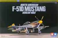 North American F-51D Mustang (Korean War), 1:72
