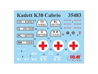 Kadett K38 Cabriolimousine, 1:35