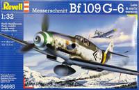 Messerschmitt Bf109 G-6 Early & Late Version, 1:32 (pidemmällä toimitusajalla)