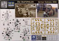 German Tankmen WWII, Die Skatspieler, 1:35