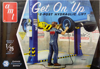 Get On Up, 2-Post Hydraulic Lift, 1:25