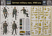 German Military Men, WWII, 1:35