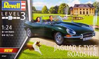 Jaguar E-Type Roadster, 1:24