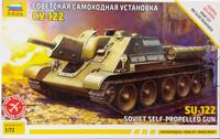 Soviet Self-Propelled Gun SU-122, 1:72