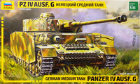 German Medium Tank Panzer IV Ausf.G, 1:35