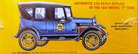 Ford 1927 Vintage Police Car, 1:25