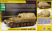 German Tank Destroyer Elefant Sd.Kfz.184, 1:35