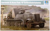 German 8,8cm Flak 18 Selbstfahrlafette, 1:35