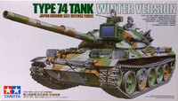 Type 74 Tank Winter Version, 1:35
