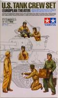 U.S. Tank Crew Set (European Theater), 1:35