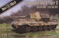 Pzkpfwg. VI Ausf. B Tiger II Sd. Kfz. 182 s.Pz.Abt. 505, 1:35