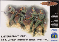 German Infantry in Action 1941-1942, 1:35
