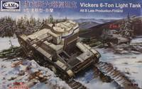 Vickers 6-ton Light Tank B Late with Interior (Finland), 1:35 (pidemmällä toimitusajalla)
