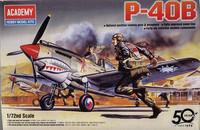 P-40B, 1:72