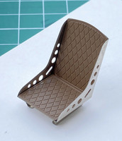 Bomber Seat Upholstery, 1:24/1:25
