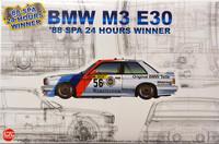 BMW M3 E30 '88 Spa 24 Hours Winner, 1:24