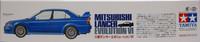 Mitsubishi Lancer Evolution VI, 1:24