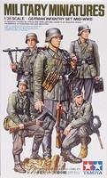 German Infantry Set (Mid-WWII), 1:35