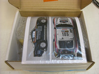 Porsche 959 Transkit Paris-Dakar Rally '86 for Tamiya 1:24
