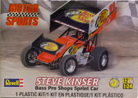 Steve Kinser Bass Pro Shop Sprint Car 1:24