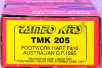 Footwork Hart Fa16 Australian G.P. 1995 1:43