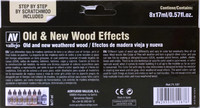 Old & New Wood Effects (8x17ml)