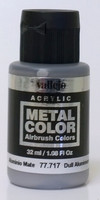 Dull Aluminium Metal Color 32ml