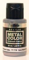 Semi Matte Aluminium Metal Color 32ml