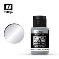 White Aluminium Metal Color 32ml