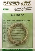 Tinned Copper Wire (0,71mm x 3m)
