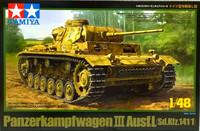 Panzerkampfwagen III Ausf.L 1:48 (pidemmällä toimitusajalla)