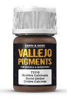 Burnt Umber, Vallejo Pigments 35ml