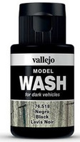 Black, Model Wash 35ml