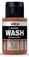 Brown, Model Wash 35ml