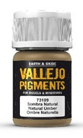 Natural Umber, Vallejo Pigments 35ml