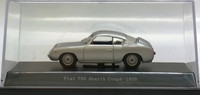 Fiat 750 Abarth Coupe '56, silver 1:43