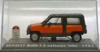 Renault Rodeo 5 4 saisons '82 1:43