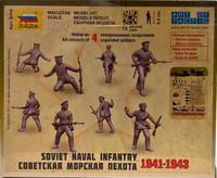 Soviet Naval Infantry 1941-1943, 1:72