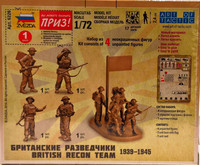 British Recon Team 1939-1945 1:72