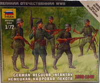 German Regular Infantry 1939-1943 1:72
