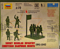 Soviet Regular Infantry 1941-1942 1:72