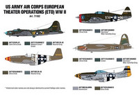 US Army Air Corps European Theater Operations (ETO) WWII