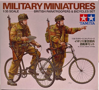 British Paratroopers & Bicycles Set, 1:35