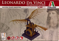 Leonardo Da Vinci, Flying Machine Ornithopter